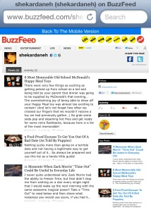 the buzzfeed posts.